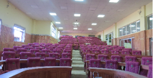 Lecture theatres almost done at Robert Mugabe School of