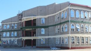 Latest images of the multipurpose lecture complex at the